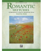 3504. M. Mier : Romantic Sketches Book 1