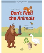 3407. G.A.Speckert : Don´t Feed the Animals (Bärenreiter) 12 Pieces for String Ensemble