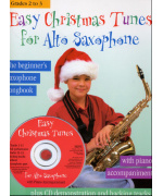5325.  Easy Christmas Tunes for Alto Saxophone + CD