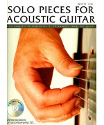 0530. Solo Pieces for Acoustic Guitar - 13 Popular Songs + CD (Wise)