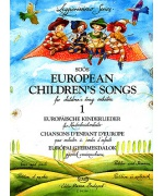 2489. European Childrens Songs for Children String Orchestra 1, score e parts (EMB)