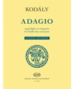 4462. Z.Kodály : Adagio for double bass and piano (EMB)