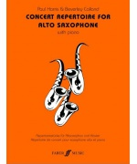 4904. P.Harris & B.Calland : Concert Repertoire (alto sax and piano)