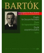 5228. B.Bartók : Duets for descant recorders from the Children's and Female Choruses