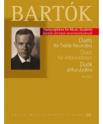 5230. B.Bartók : Duets for treble recorders from the Children's and Female Choruses (EMB)