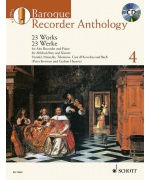 4989. P. Bowman, G. Heyens : Baroque Recorder Anthology 4 + CD