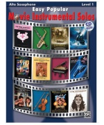 4913. Easy Popular Movie Instrumental Solos - Tenor Saxophone
