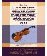 0485. Ch. Dancla : Studies for Violin Op. 68 with accompaniment of a second violin
